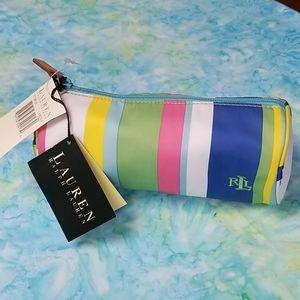 Lauren by Ralph Lauren cosmetics bag